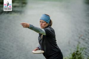 Antonia Faber in Oulu bei den EDGC 2016