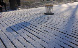 Korb 1 im Schnee