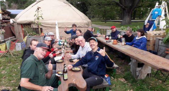 15. Kursgeburtstag: Mittag im Nomadenland